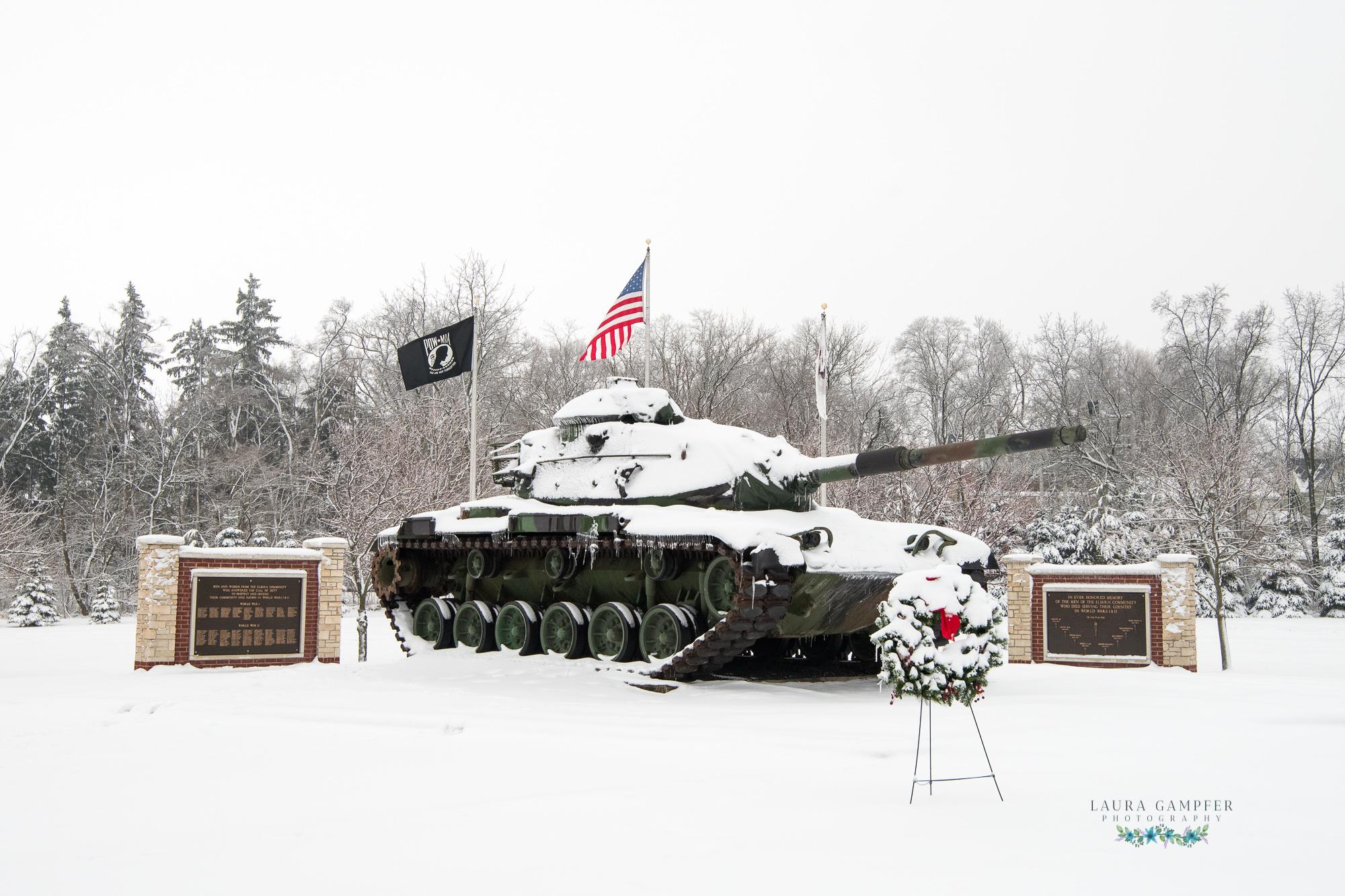 Village of Elburn IL Veterans' Memorial