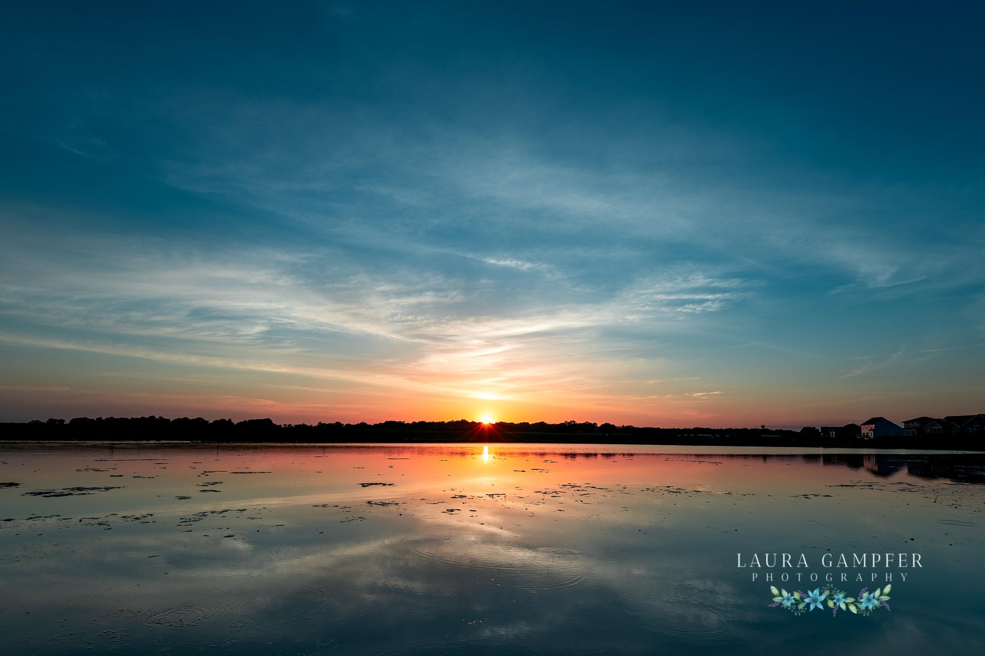 elburn illinois kane county sunset