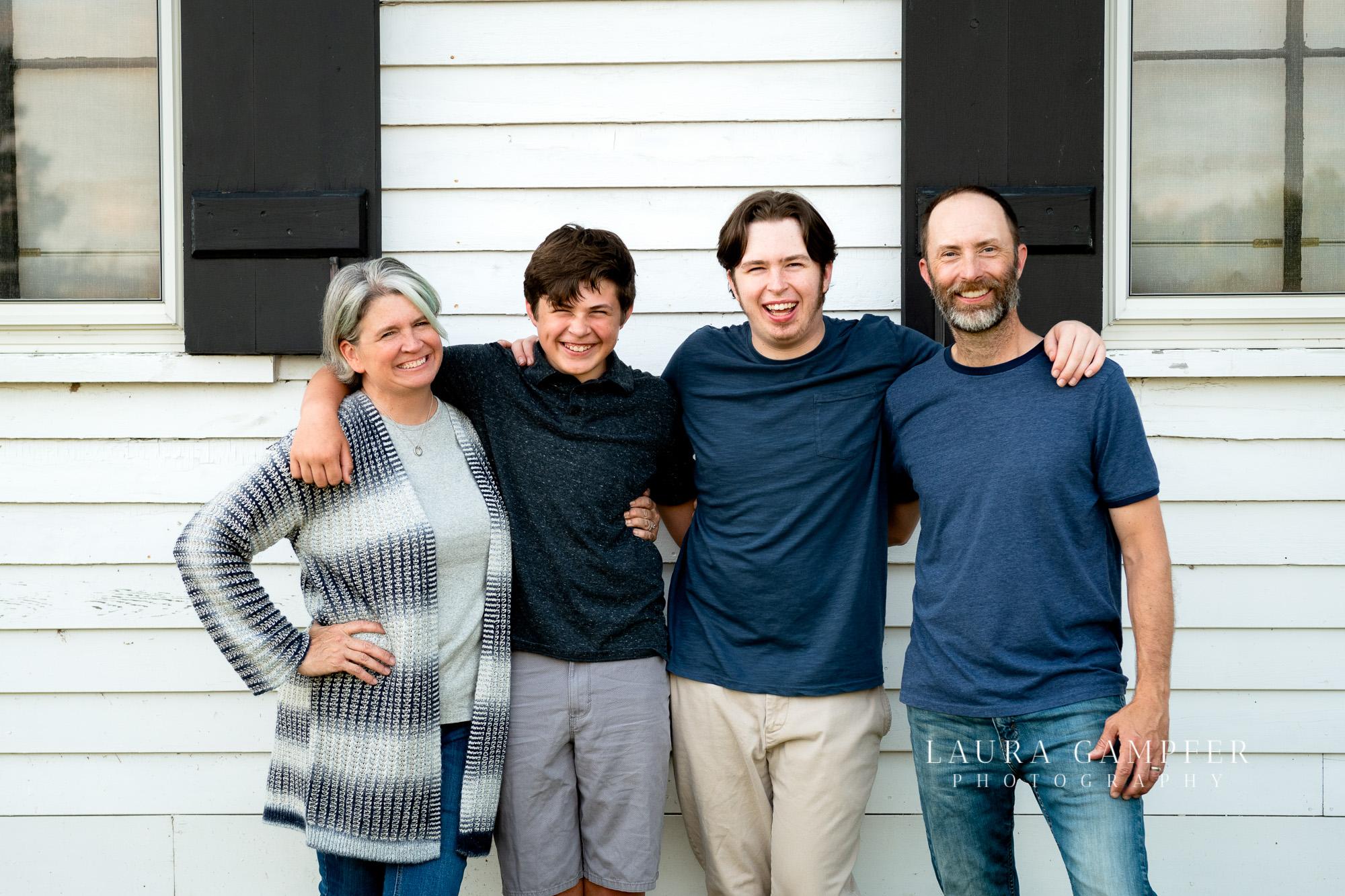 St. Charles Wasco Family Photos