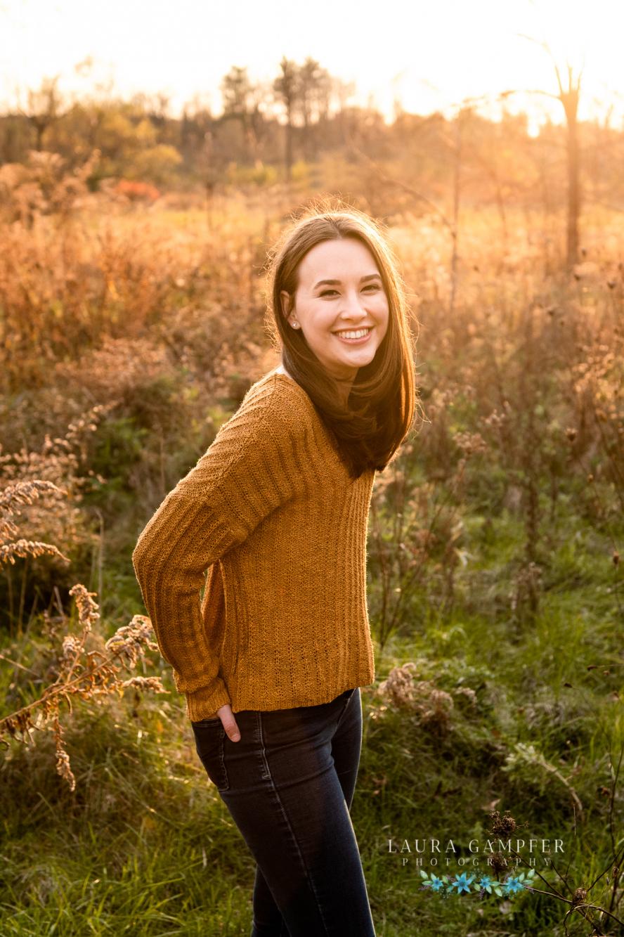 Kaneland high school senior photographer