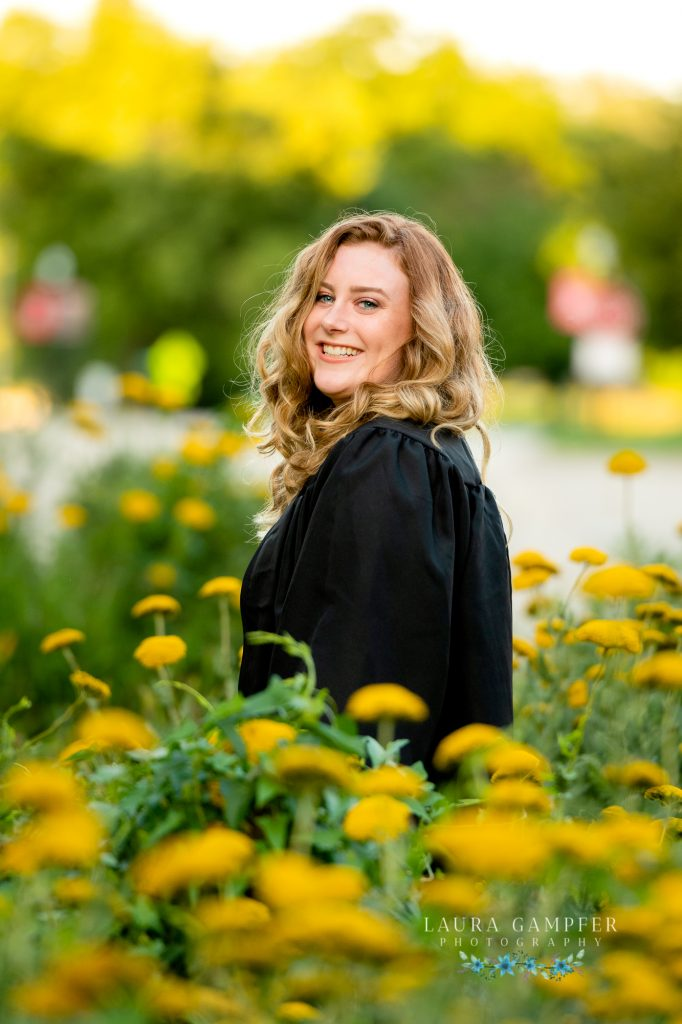 is the perfect backdrop for NIU graduates to have their graduation photos and head shots taken! As a photographer who lives near DeKalb, I love it when we're able to incorporate such a meaningful location for these college graduates!