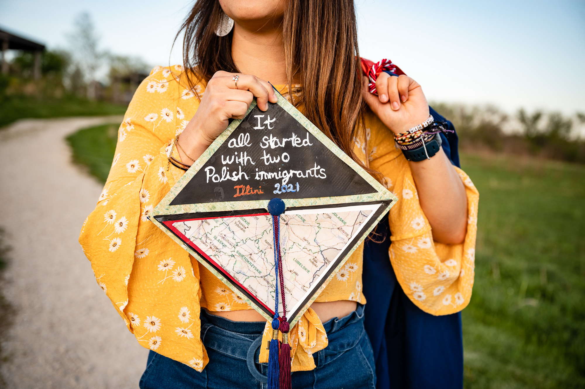 College graduation photography Kane DeKalb DuPage County