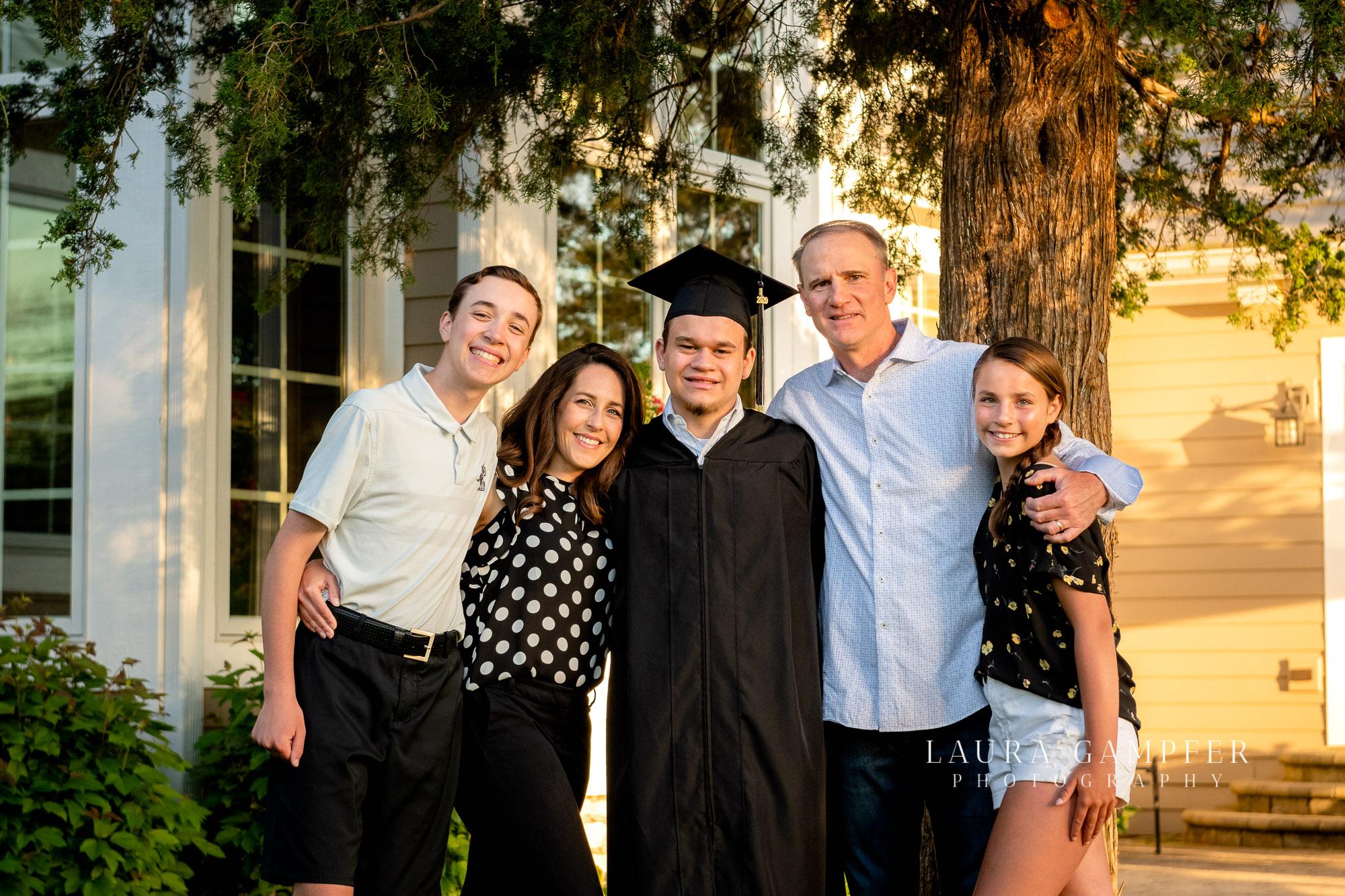 graduation photographer kane dekalb kendall county